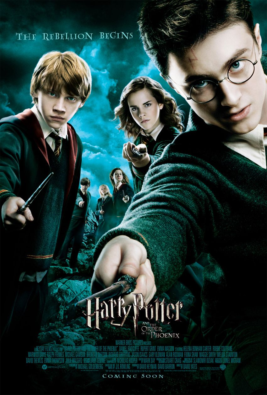 Harry Potter and the Order of the Phoenix Harry potter