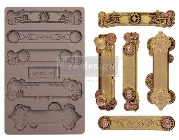 Redesign Mould - Steampunk Plates