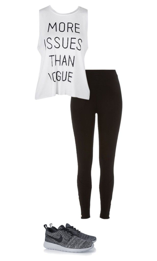 """""""*"""" by littledisastter ❤ liked on Polyvore featuring River Island and NIKE"""