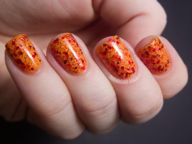 Easy Amazing Thanksgiving Nail Art Designs Nails Pinterest