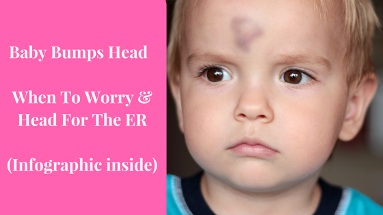 Baby Bumps Head When To Worry Head For The Er Infographic