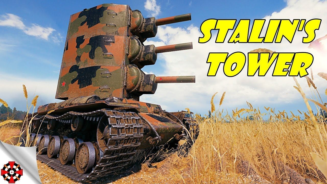 World Of Tanks Modding Madness Kv 2 2 2 Stalin S Tower Wot