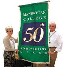 Throughout the year, numerous alumni events and activities take place and we invite Manhattan graduates, spouses, parents and friends to become actively involved.  http://www.payscale.com/research/US/School=Manhattan_College/Salary