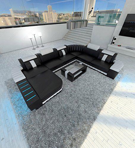 Xxl Sectional Sofa Bellagio Led U Shaped Sectional Sofa U Shaped Sectional Sofa Leather Sectional Sofas