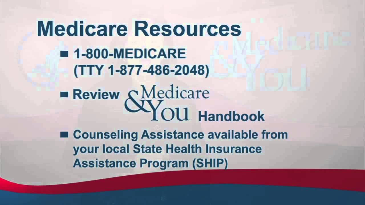 Resources For Open Enrollment To Medicare We Are A Tradition Of