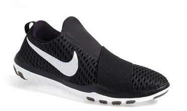 Nike 'Free Connect' Black No Laces Training Shoe - Nordstrom
