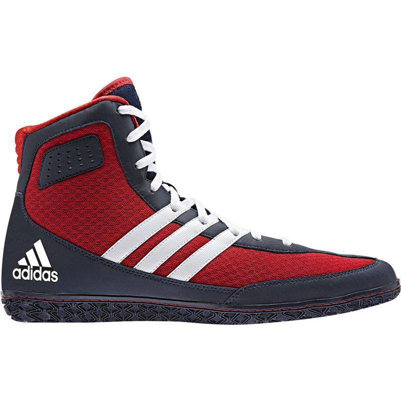 adidas Men's Mat Wizard DT Wrestling Shoes, Size: 11.5, Red