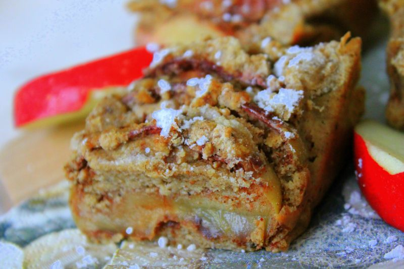 Superhealthy applecake.