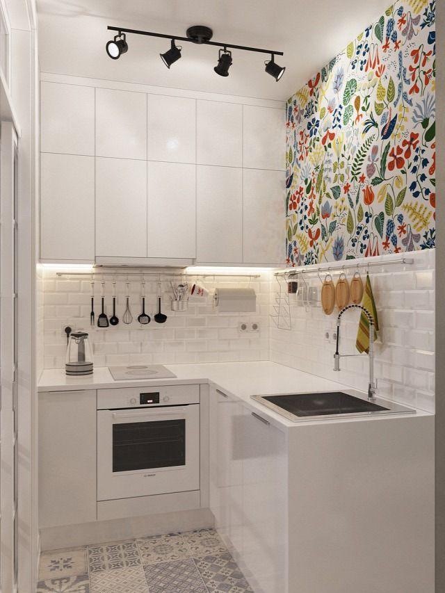 Ötletekkel Gazdag Fiatalos Lakás 25 Négyzetméteren 3D Látványterv Classy Design Of Kitchen Inspiration Design