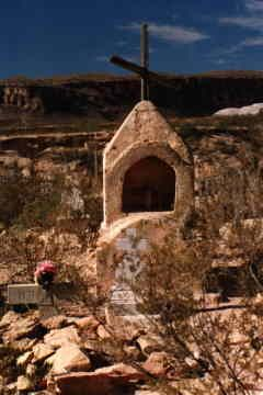 Terlingua, Texas-the old cemetary.