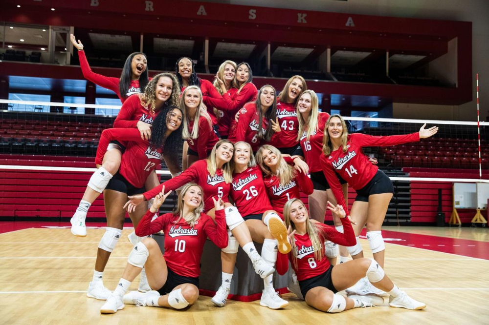 It S Going To Be A Dogfight For The Three Huskers Competing For Nebraska S Libero Spot Nebraska Football Nebraska Football Game Volleyball Pictures