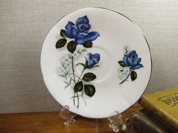 Hey, I found this really awesome Etsy listing at https://www.etsy.com/listing/242828197/clifton-bone-china-vintage-saucer-blue