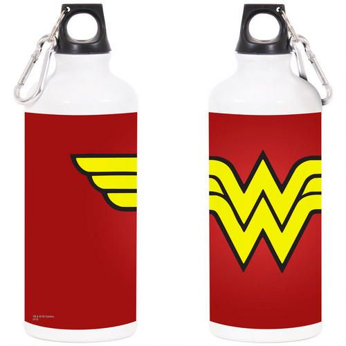 Wonder Woman Symbol Water Bottle
