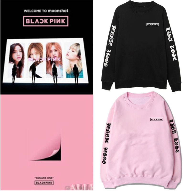 Details about Kpop Blackpink SQUARE TWO Stay Sweatershirt