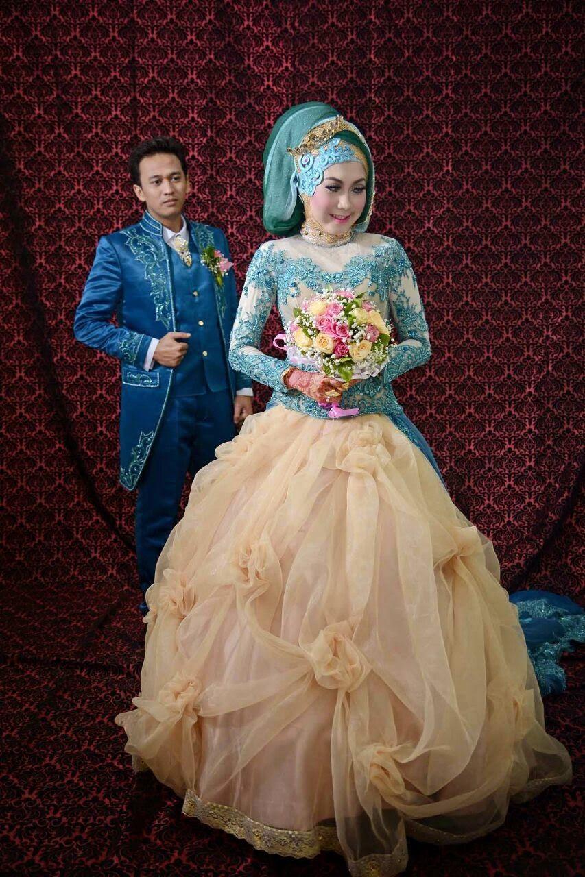 Model Baju Pengantin Muslim 2014 4 Model Baju Pengantin Muslim