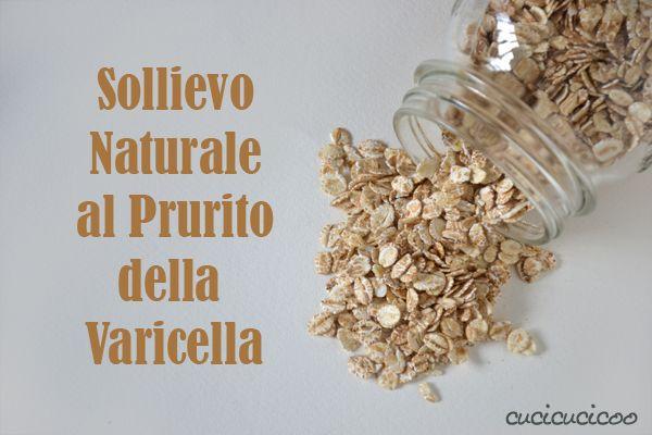 Varicella Bagno ~ Sollievo naturale al prurito della varicella fiocchi di avena
