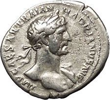HADRIAN 119AD Rome Authentic Ancient Roman Silver Coin