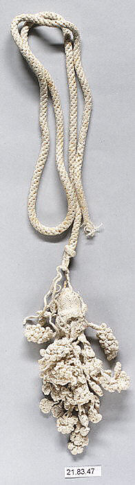 I have a very large soft spot for hand-knotted tassels Italian tassel from the 17th Century
