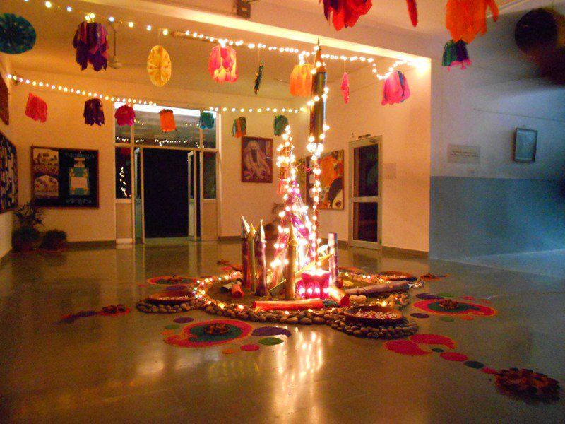Exceptional Home Decoration Ideas In Hindi Part - 9: ?? ?? ??? ??????? ?????? ?????: Diwali Ghar Ki Sajawat - Diwali Home  Decoration Ideas In Hindi. Diwali Gar Ki Shoba, Ghar Ko Kaise ...