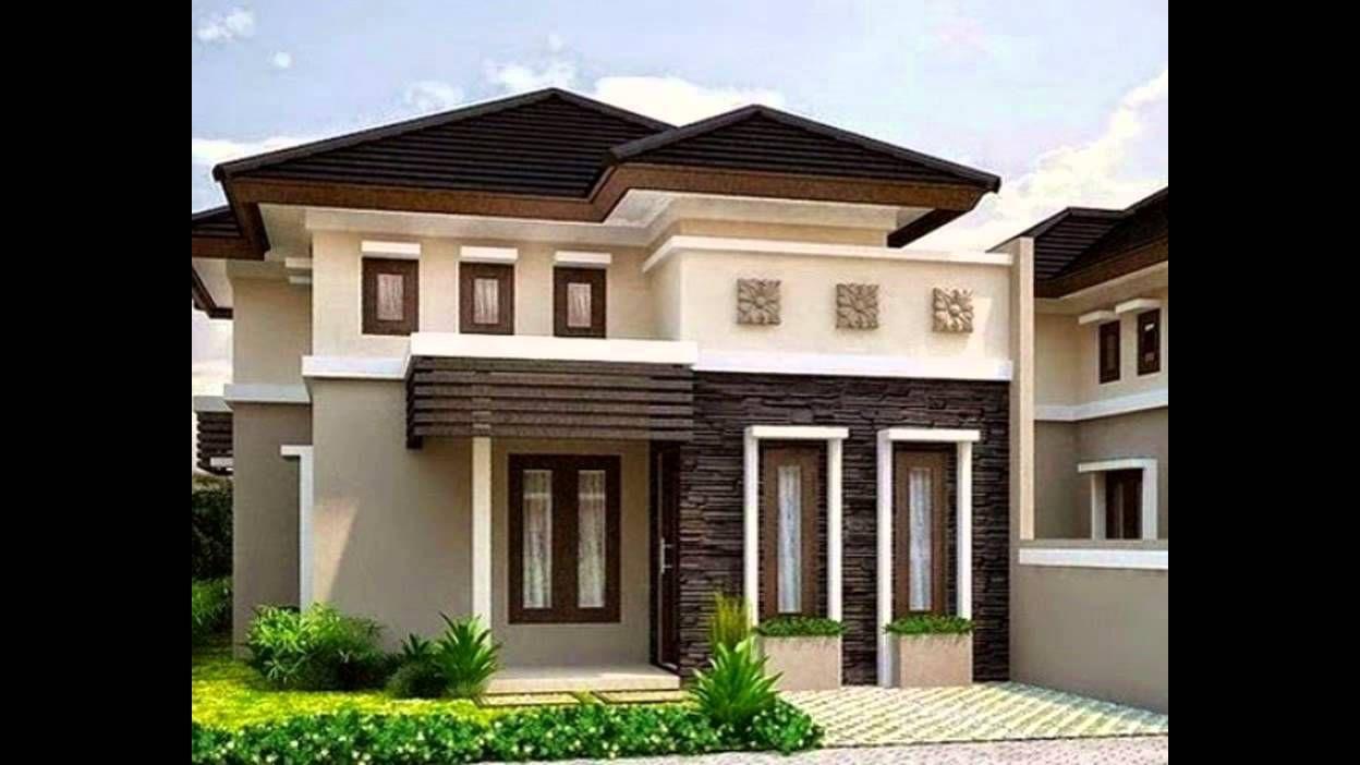 Desain Teras Rumah Warna Coklat Di 2021 Rumah Arsitektur Rumah Minimalis Home Fashion Kombinasi warna coklat muda