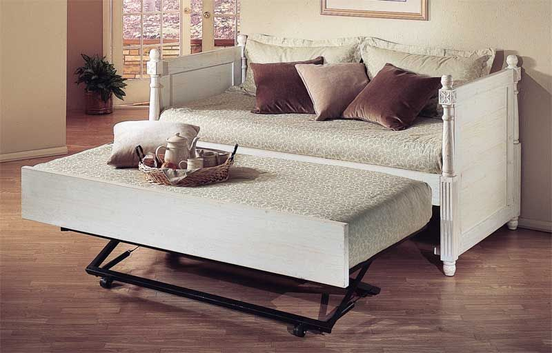 trundle daybeds for adults hawks alligator enterprises french daybed with a pop up. Black Bedroom Furniture Sets. Home Design Ideas