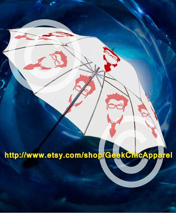 Geek Chic Pinky brain doctor golf umbrella by GeekChicApparel, £19.50