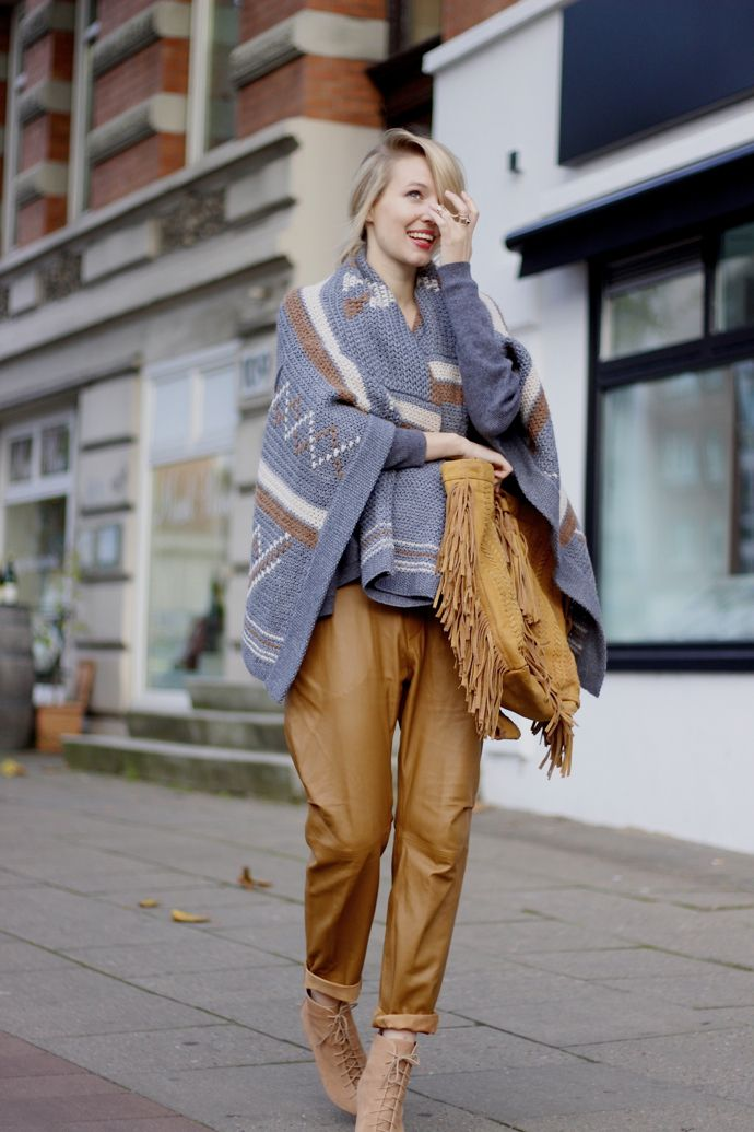 Leonie Hanne: How to Style Your Chunky Knits | Fashion
