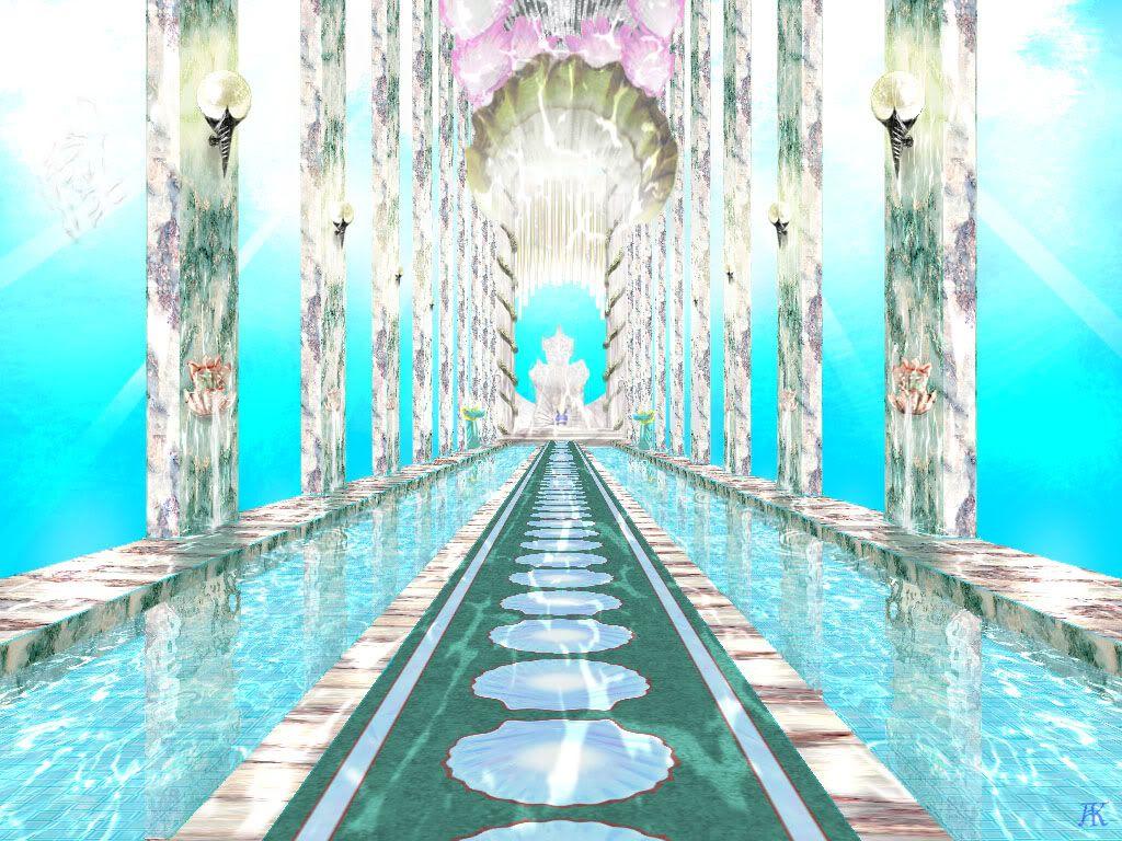 poseidons underwater palace crafts art pinterest
