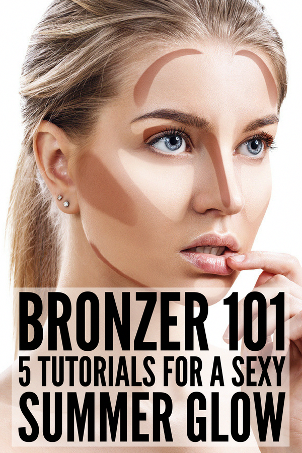 How to Use Bronzer 5 step by step tutorials to teach you
