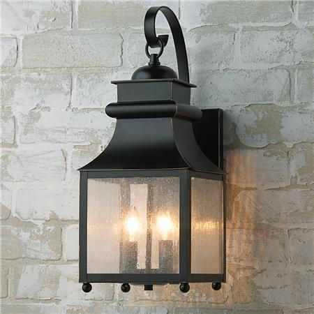 Outdoor Wall Lantern Lights Mesmerizing Homesteader Seeded Glass Outdoor Wall Lantern  Outdoor Wall Lantern Design Ideas