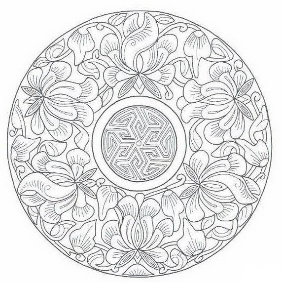 Ramadan Coloring Pages For Kids Mandala Coloring Pages Coloring
