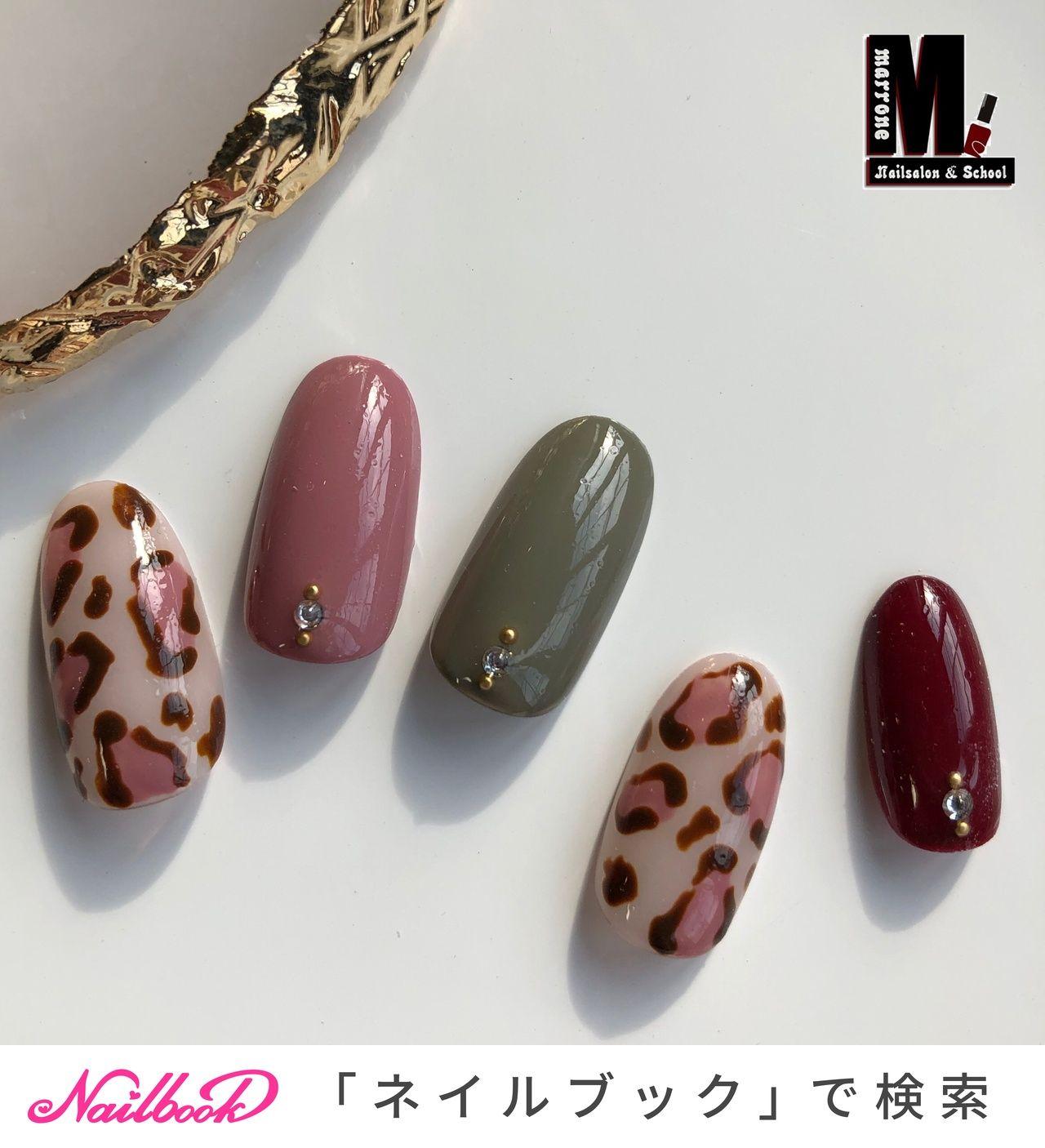 秋/冬/デート/女子会/ハンド , Kumiのネイルデザイン[No.4572587