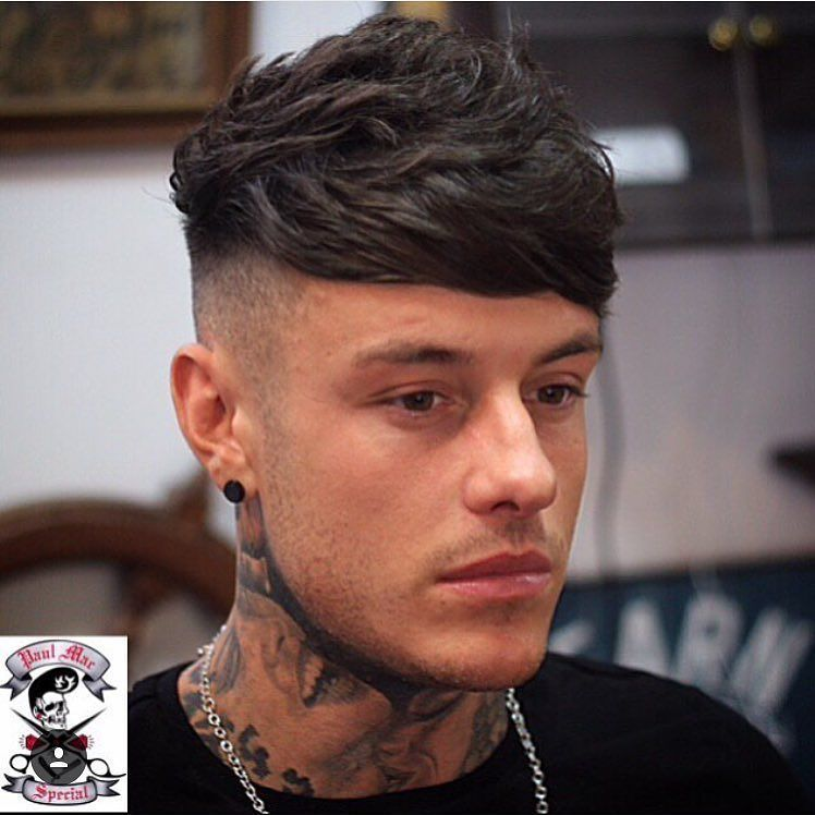 @paulmacspecial hooked up @mtv star @chet_sket with a choppy textured undercut. We're delighted to have Paul appear on the main stage at MB Live 2016. by britishmasterbarbers