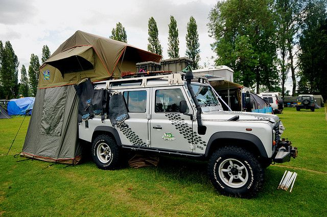 110 With Howling Moon Roof Tent By Andy Carter Via Flickr 2cv
