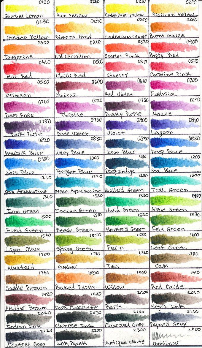 Derwent Inktense 72 Pencils By Mitoma On Deviantart Colored