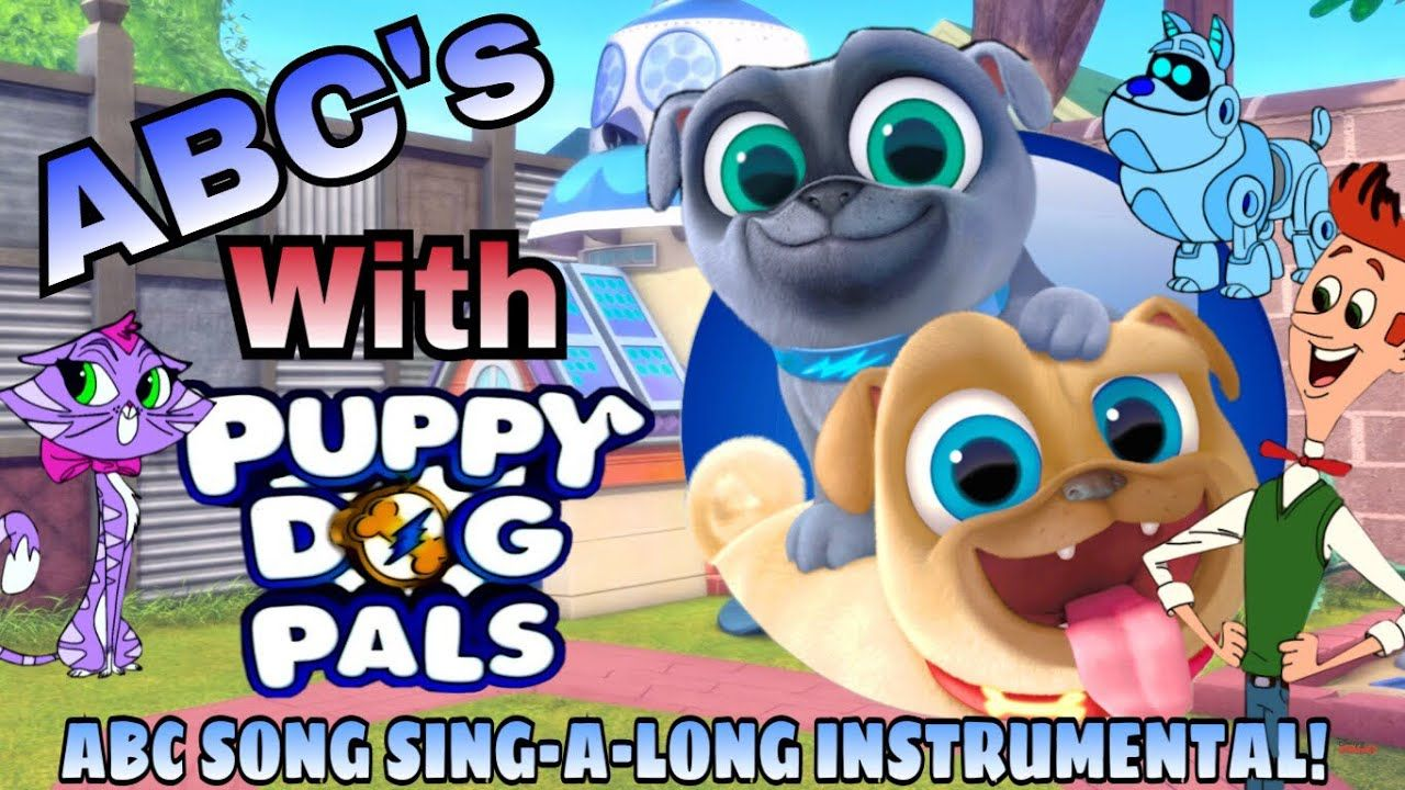 Puppy Dog Pals Sing Abc S Learn The Alphabet With Rolly Bingo