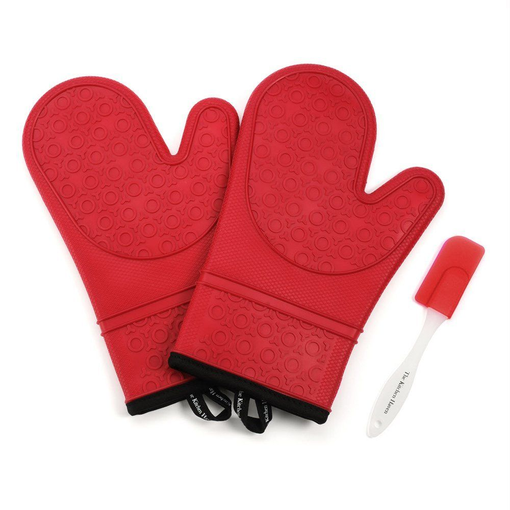 Super Flexible Outer Shell Is Non Slip With Raised Patter So You Can Hold Hot Items With Good Grip Ovenmmitts Siliconeovenmitts The Our Products Best Oven Red Ovens Oven Glove