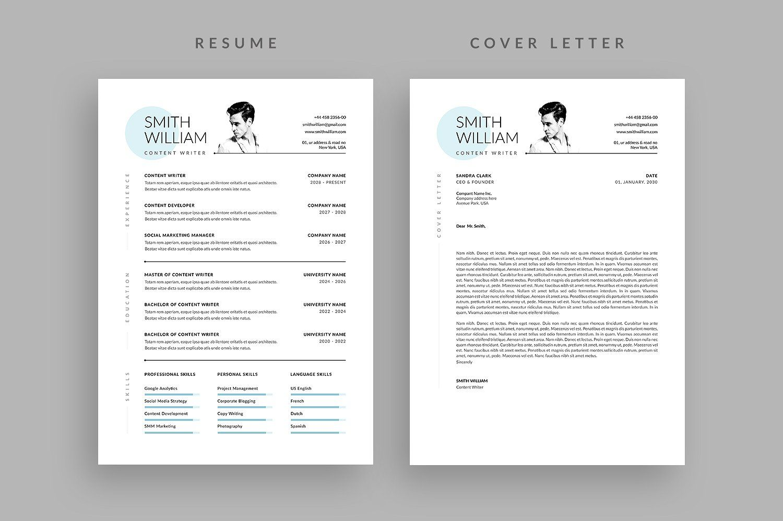 Resume/CV Cover letter for resume, Resume cv, Letterhead