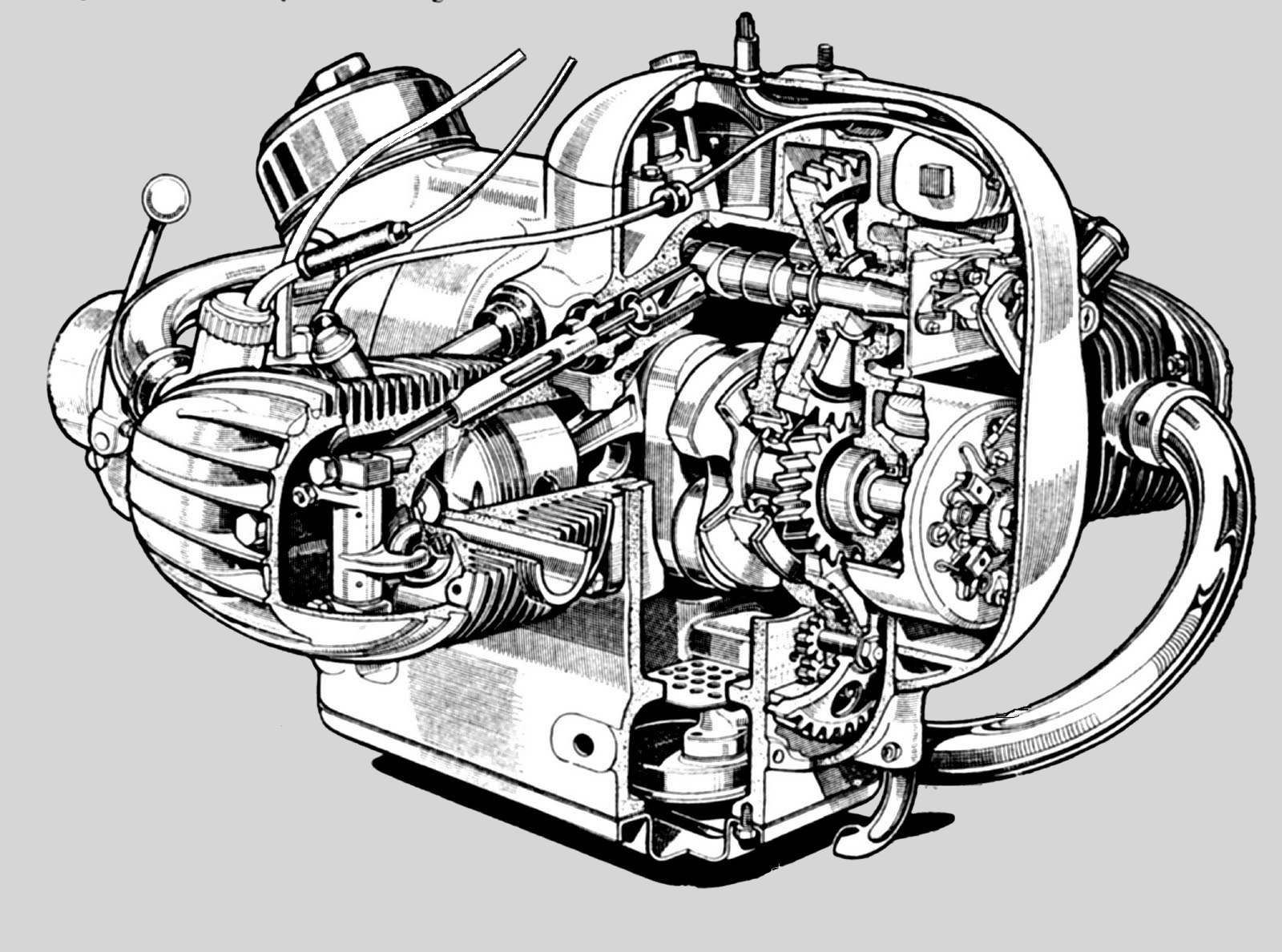Dan S Motorcycle How An Engine Works Bike Bmw Bmw Engines