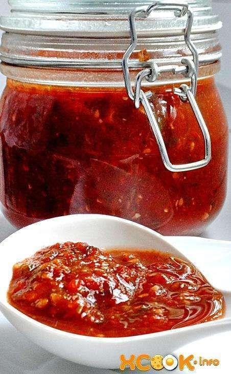 Грузинский томатный соус Сацебели - рецепт с фото, как ...