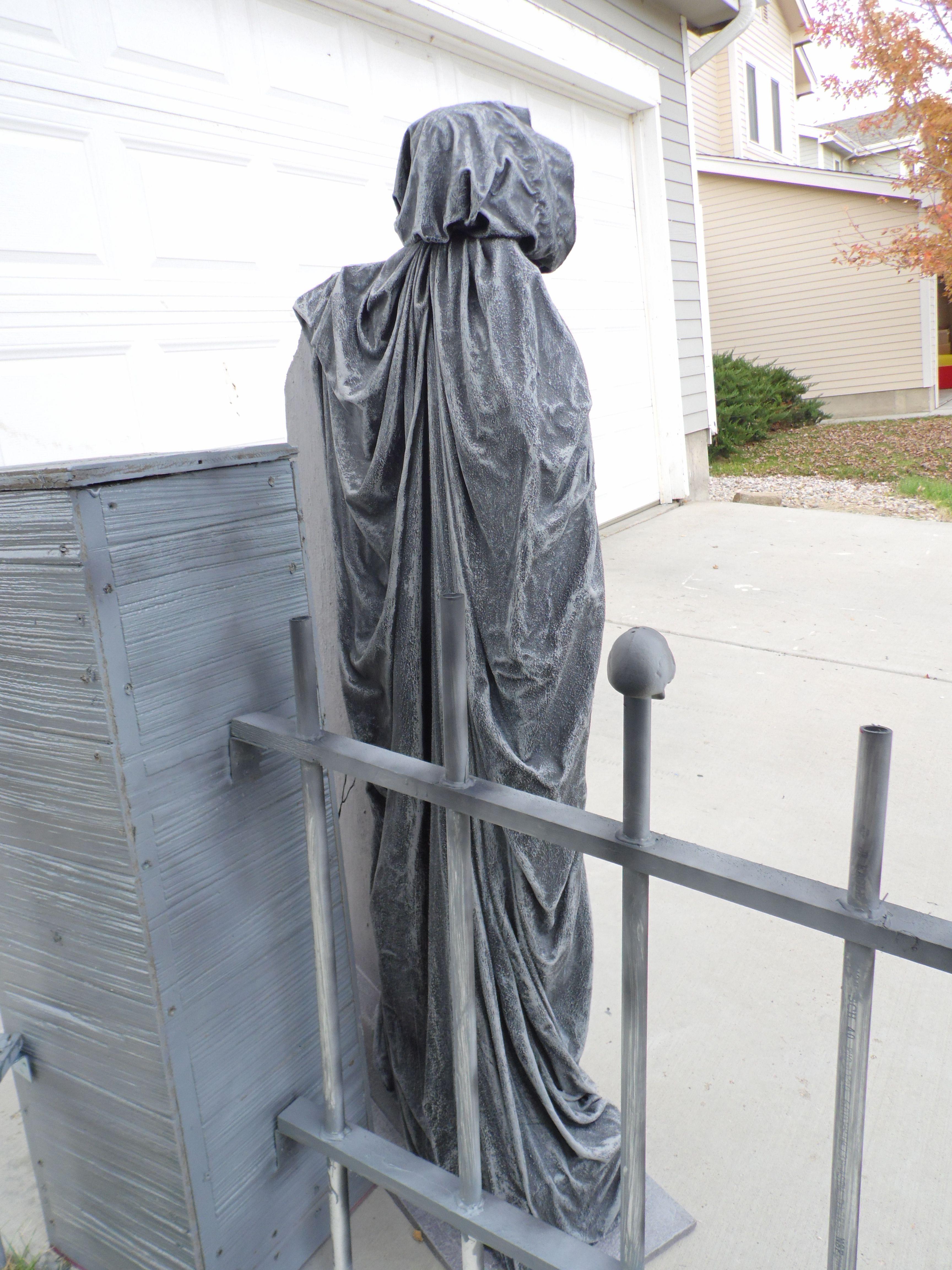 Mausoleum, Tombstone, Halloween, Cemetery, Graveyard, Yard Haunt, - Celtic Lane