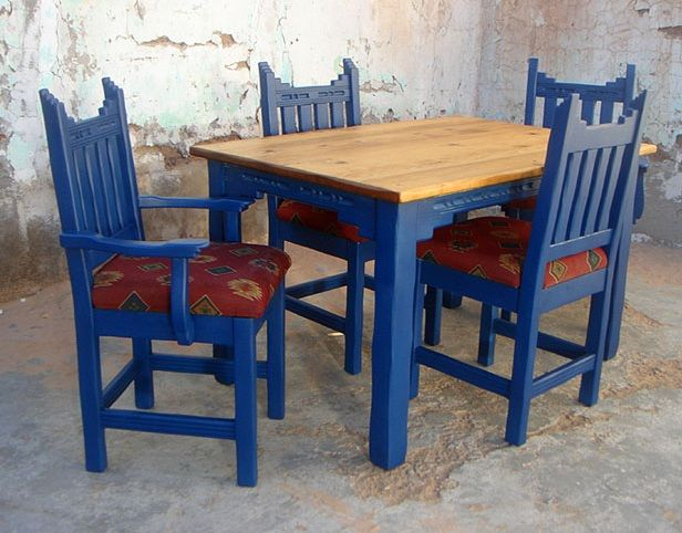 Image Detail For New Mexico Southwest Style Dining Set Tables
