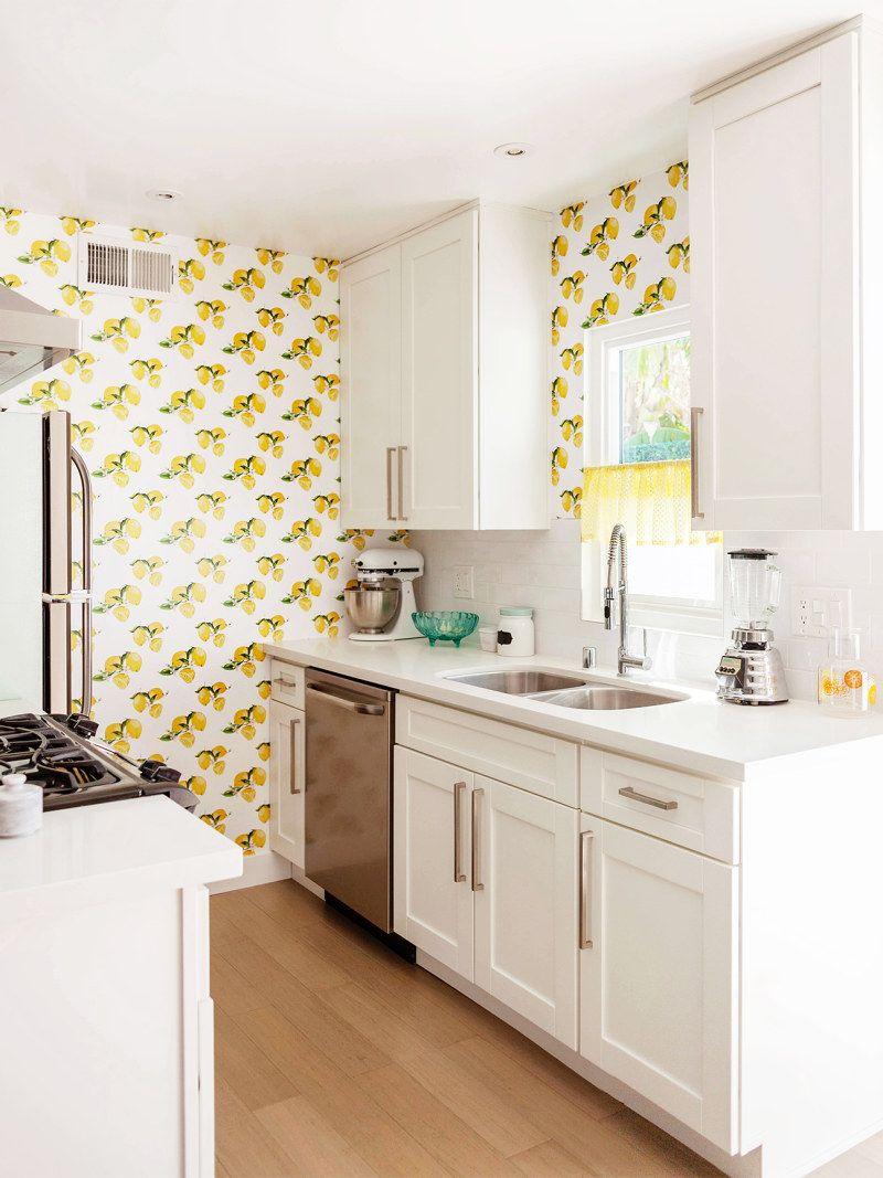 9 Kitchen Wallpaper Ideas That'll Inspire a Bold, Botanical ...