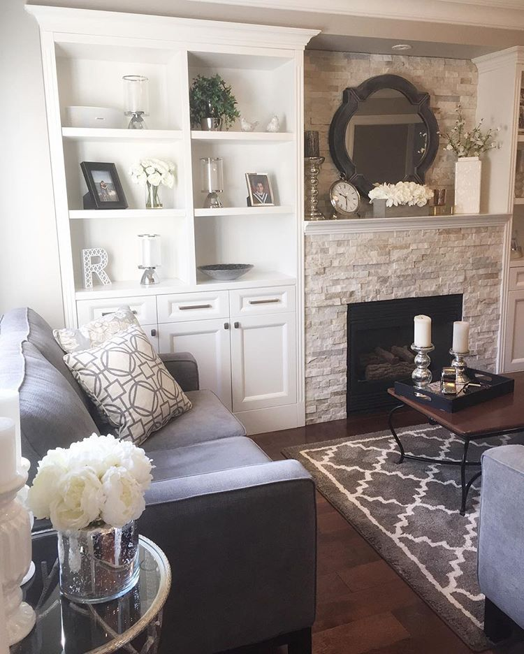 Best Paint Is Benjamin Moore Thunder Fireplace Stone Is 400 x 300