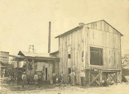 Forestburg Tx Ly Kurgis William S Cotton Gin Southern Art