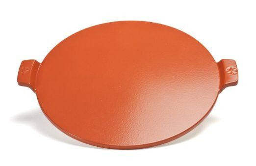 Pizza Craft Round Glazed Pizza Stone 14.5 inches - Red - Cordierite  - Availability: in stock - Price: £88.80