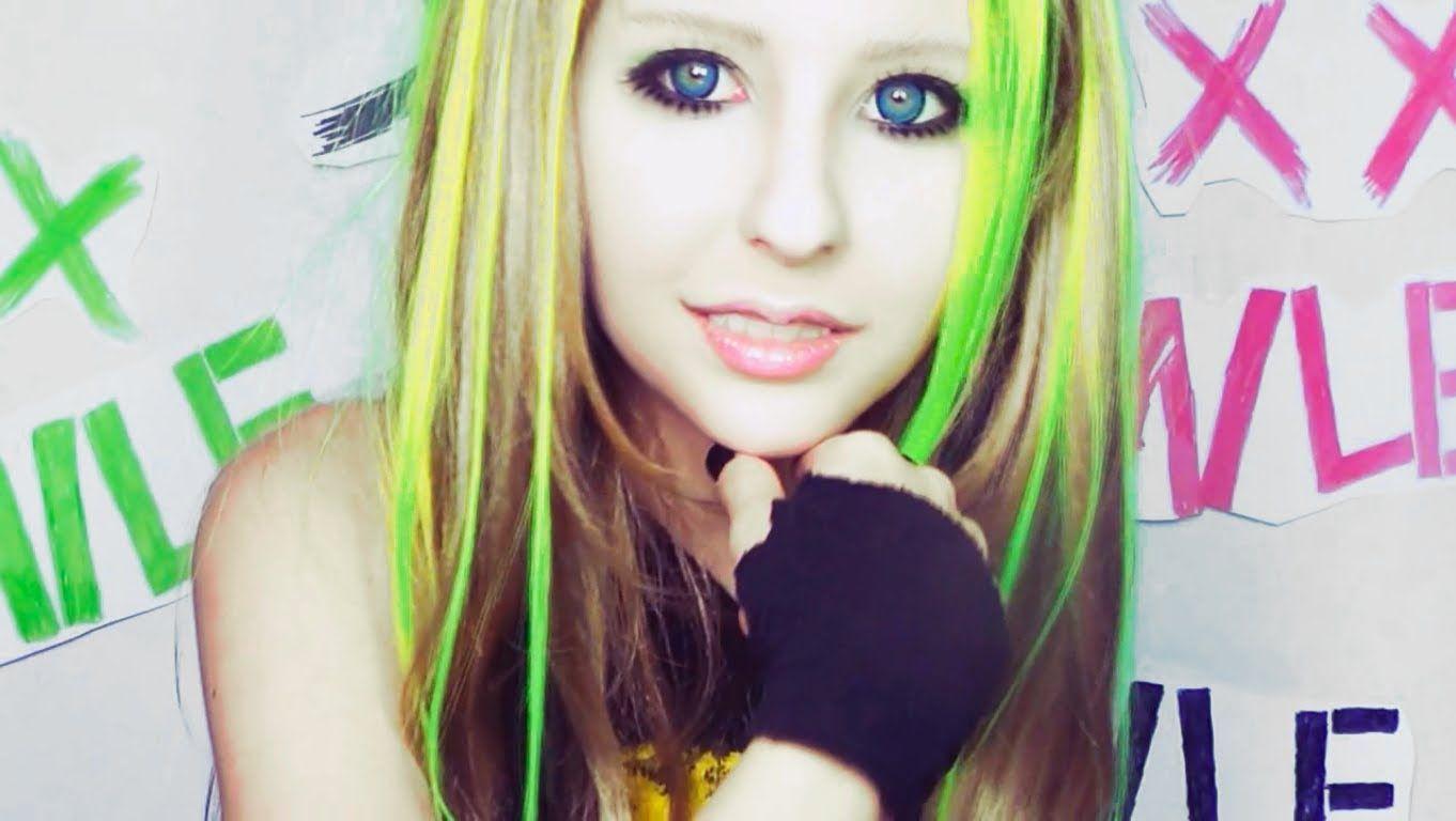 Avril Lavigne Smile Make Up Tutorial By Anastasiya Shpagina I Love