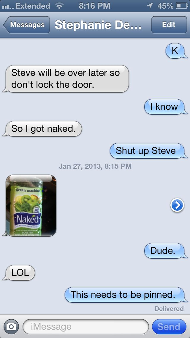 A convo between my roommate and I... Wow.
