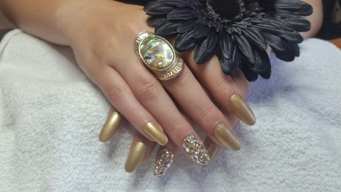 Made to order nails by Gelly Filled Nail Salon!