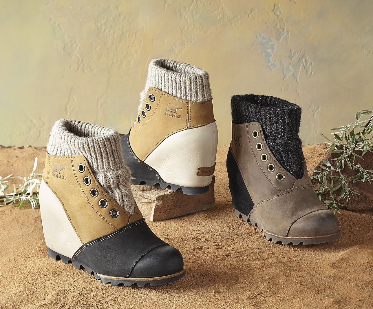 Joanie Sweater Boots Sassy Leather Boots Are Just The Thing For